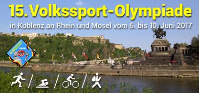 Internationale Wanderolympiade 2017 in Koblenz